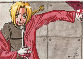 Edward Elric by Koza-Kun