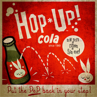 Hop Up Soda by radioactiveoverflow