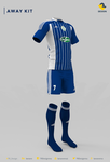 Raja Club Athletic(RCA), Adidas Football Kit 2014/ by TRIO-3