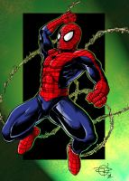 Spidey colours for Web-head-uk by IanDSharman