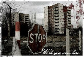 Chernobyl Postcard 1 by ToucanMan
