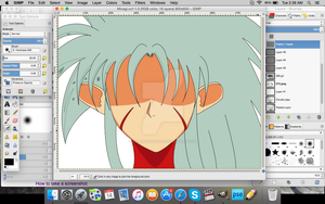 Drawing Minagi Tenchi Muyo Manga WIP by gamemaster8910