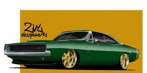 68 Charger by zvtdesigns