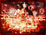 UnderTaker VS Cm Punk Wallpaper by JoKeRWord