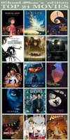 Top 21 Movies by CanisAlbus