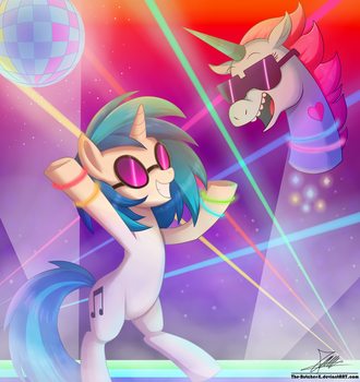 .:MAGIC HARD PARTY!!:. (Commission) by The-Butcher-X
