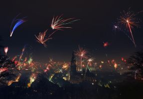New Year in Freiburg by orestART