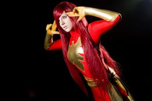 Dark Pheonix by Adam Jay by Alexia-Jean-Grey