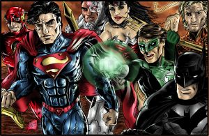 New 52 : Justice League by Lannytorres