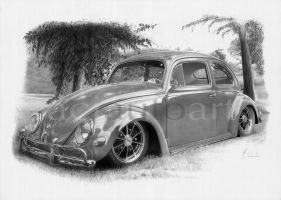 Oval bug commission by Boss429