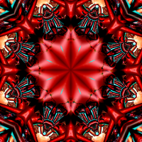 Red Kaleidoscope by laramide-orogeny