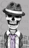 Skulduggery Pleasant - traditional by Championx91