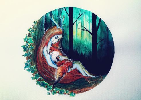Forever lost by red-fox-child