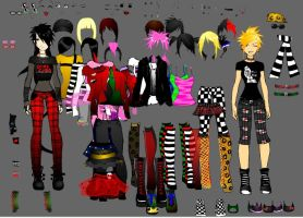 Let's Play Dress Up by xRazor-Sharpx