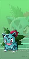+ Ivysaur - 002 + by PokeChibiArtist98