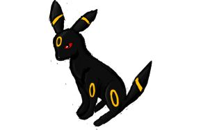Umbreon (Pokemon) by lordgarth6
