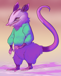 80s opossum by Spoonfayse