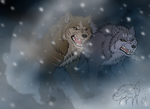 GNG-Cold Inferno by EmberWolfsArt