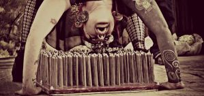 Bed of Nails by MickeyxMonster