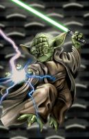 Yoda - by AJ Moore by GudFit