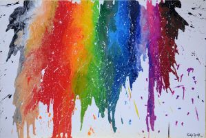 Crayons-Art by keillly