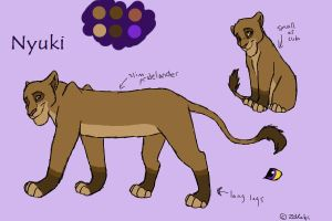 Nyuki Reference 2012 by Zoketi