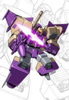 IDW G1 Card - Blitzwing by GuidoGuidi