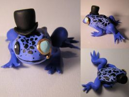 Dapper Mister Frog by elephantblue