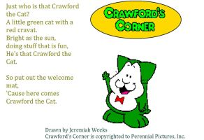 Crawford's Corner- Crawford the Cat by sonic-fan-126
