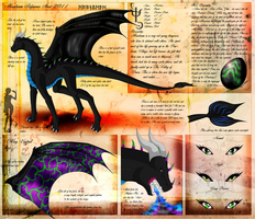 Moonbeam Ref-Sheet 2011 by Neffertity