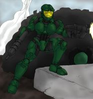 Female Spartan Mk II - Halo by CycKath