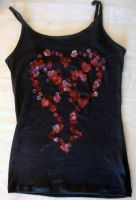 Heartless Tank Top by silverbeam