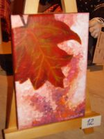 Autum leaf painting by LARvonCL