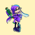 Zonetan Inkling costume by donicx1