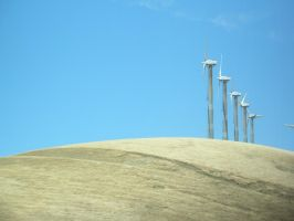 Wind Turbines by BaronOfTheWillows