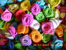 box of foam roses by juls2