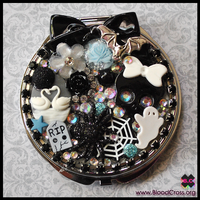 Gothic Compact Mirror by BloodCross