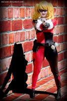 Harley Quinn does PENG!! - May 16, 2014 by Naivaan