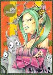 Hallowe'en 2 Sketch Card - Helga Wojik 2 by Pernastudios