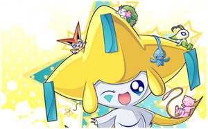 Jirachi and Friends by Hellknight10