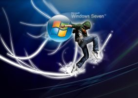 Windows Se7en Hip-Hop by Marobisoft