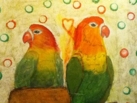 LovE BiRds* by Roxane97
