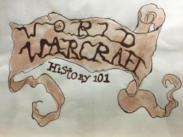 World of Warcraft Title Scroll by z0mgz0mbies7