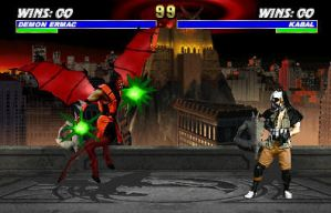 Kabal V.S. Demon Ermac by Methados