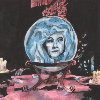 Madame Leota by monstercola