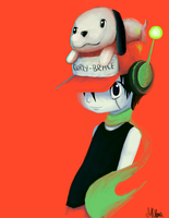 A Cave Story Hero by AngryPotato