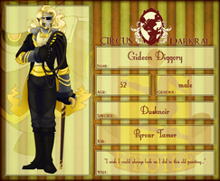 c-d app | Gideon Diggory by Delayni