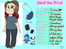 Meet the Artist by SassySlinky