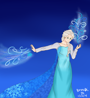 The Cold Never Bothered Me Anyway by AmaiYuzuki564