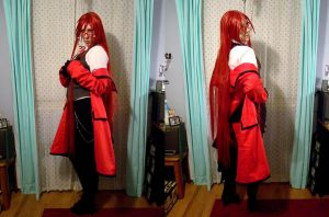Grell Shinigami Cosplay Showcase by DarkMuse112